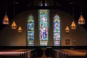 church-stencil