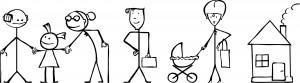 familystickdrawing-dreamstimefree_4342789
