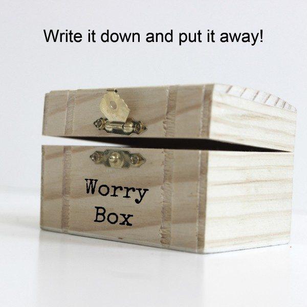Make A Worry Box